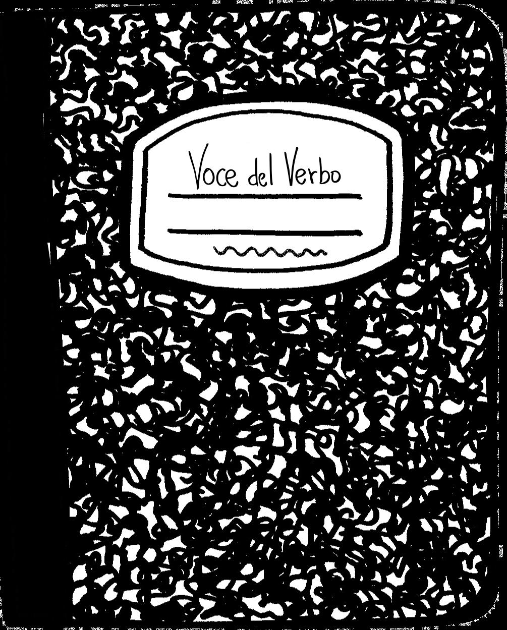voce del verbo quaderno