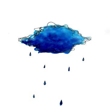 blu pantone nuvola pioggia