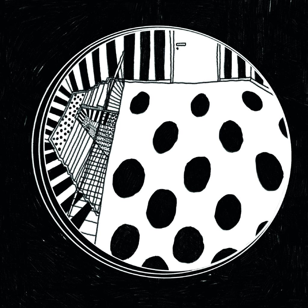 scala bianco e nero